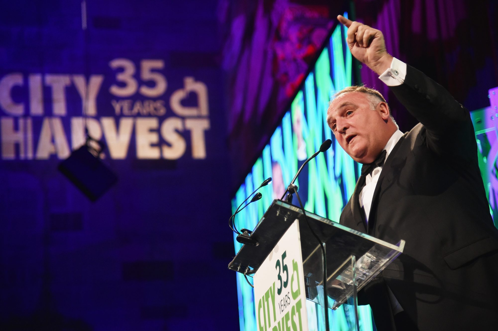 José Andrés and Chrissy Teigen Honored at City Harvest Gala