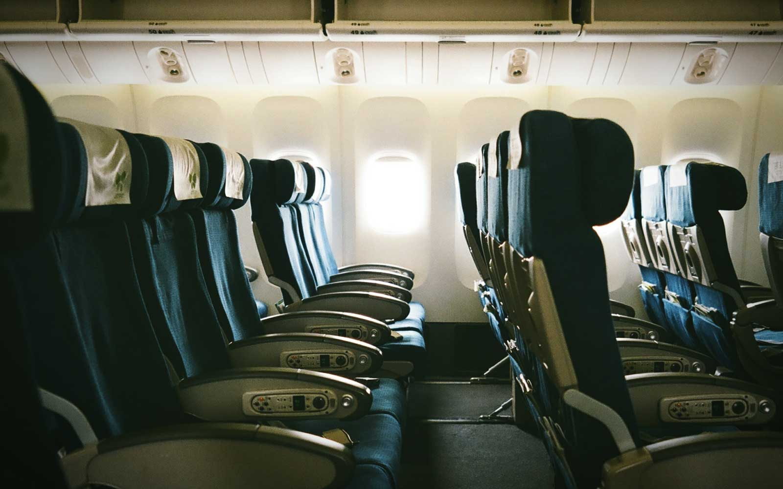 Why Airplane Seats Face Forward