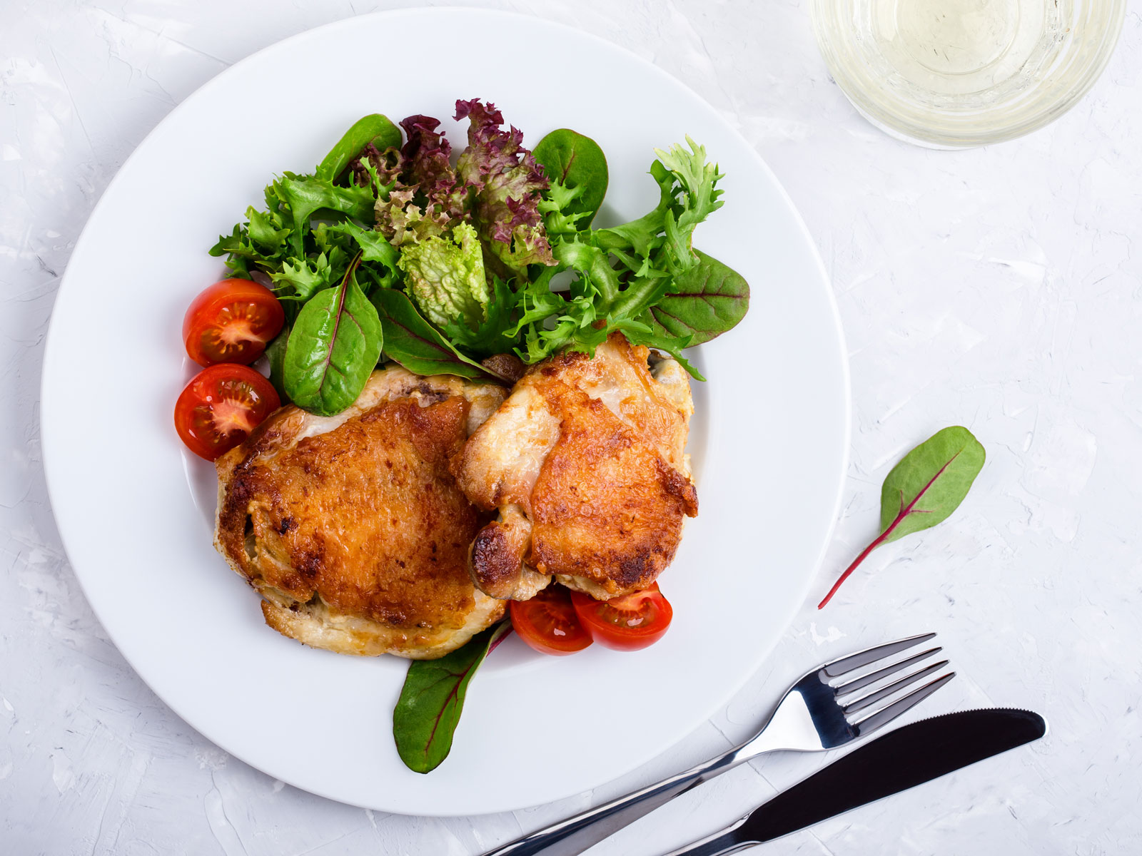 Garnish for chicken can be different 18