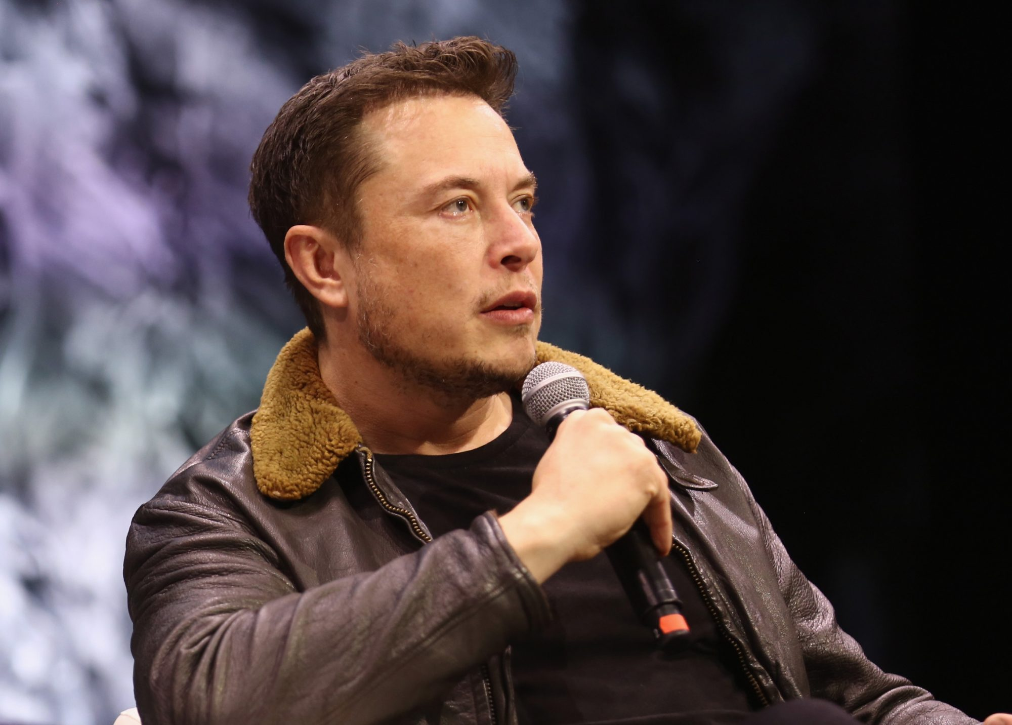 Tesla and SpaceX CEO Elon Musk speaks onstage at the South by Southwest festival.