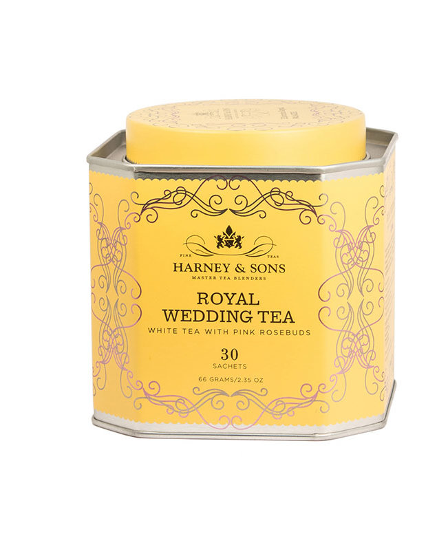 This New Royal Wedding Tea With Pink Rosebuds Is Just What You Need for Royal Wedding-Watching