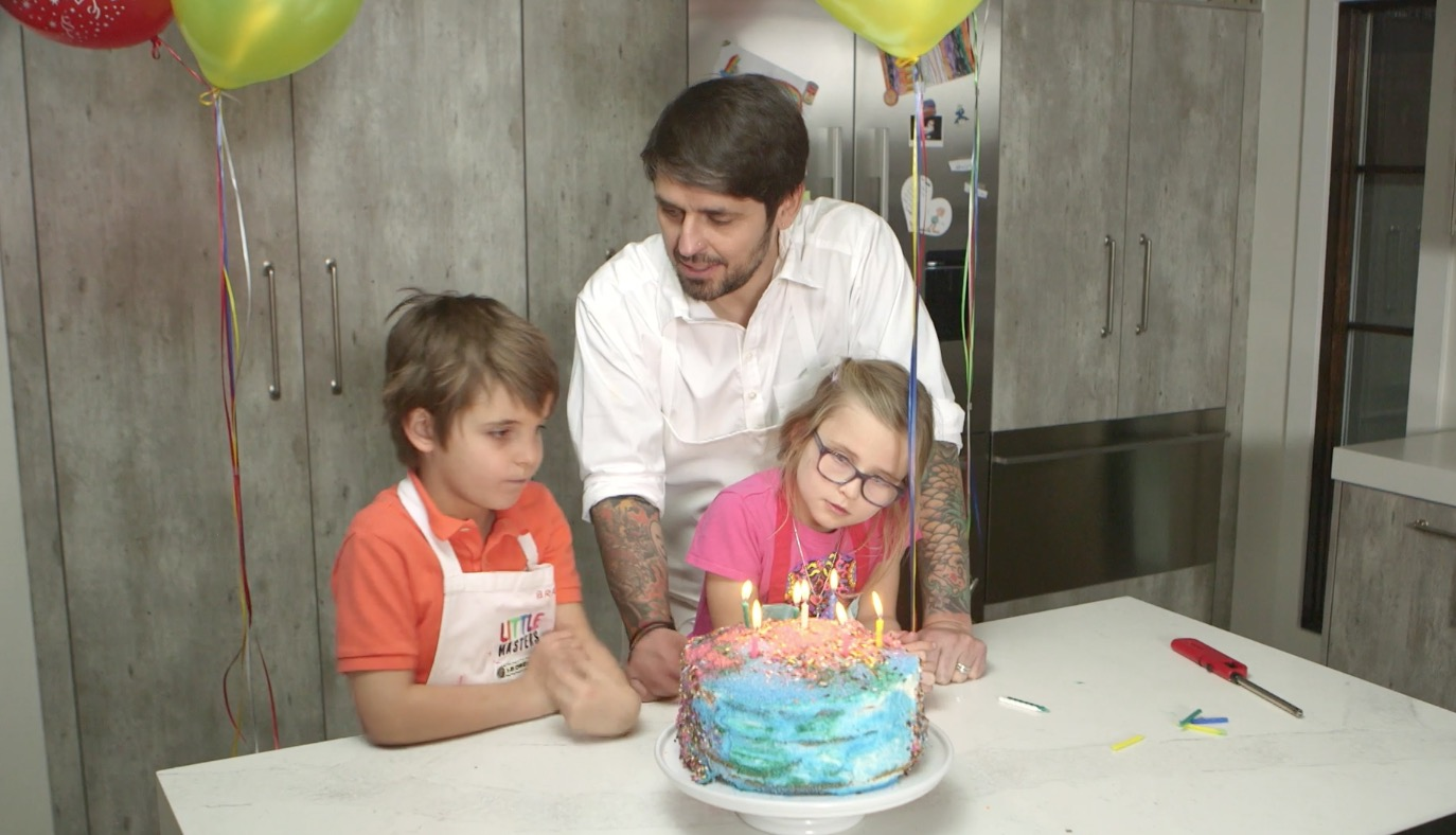 How to Bake a Birthday Cake + 4 Fun and Easy Ways Kids Can Help Out