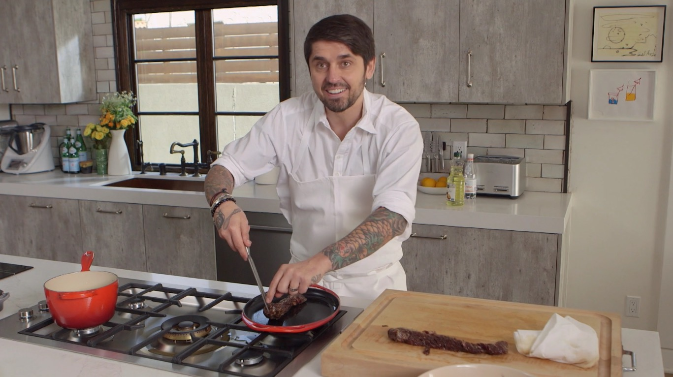 Ludo Lefebvre's Korean Steak Recipe Is Everything We Could Ever Want
