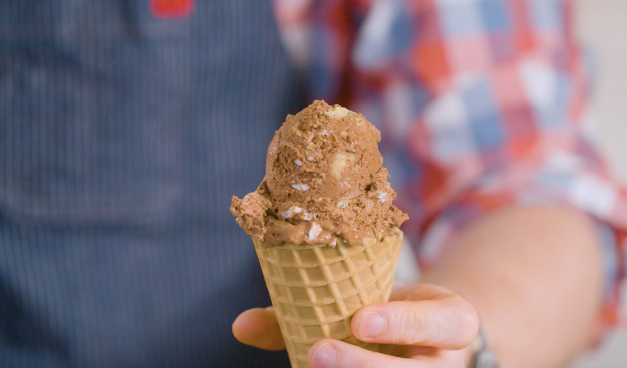 How to Make Rocky Road Ice Cream Without an Ice Cream Maker