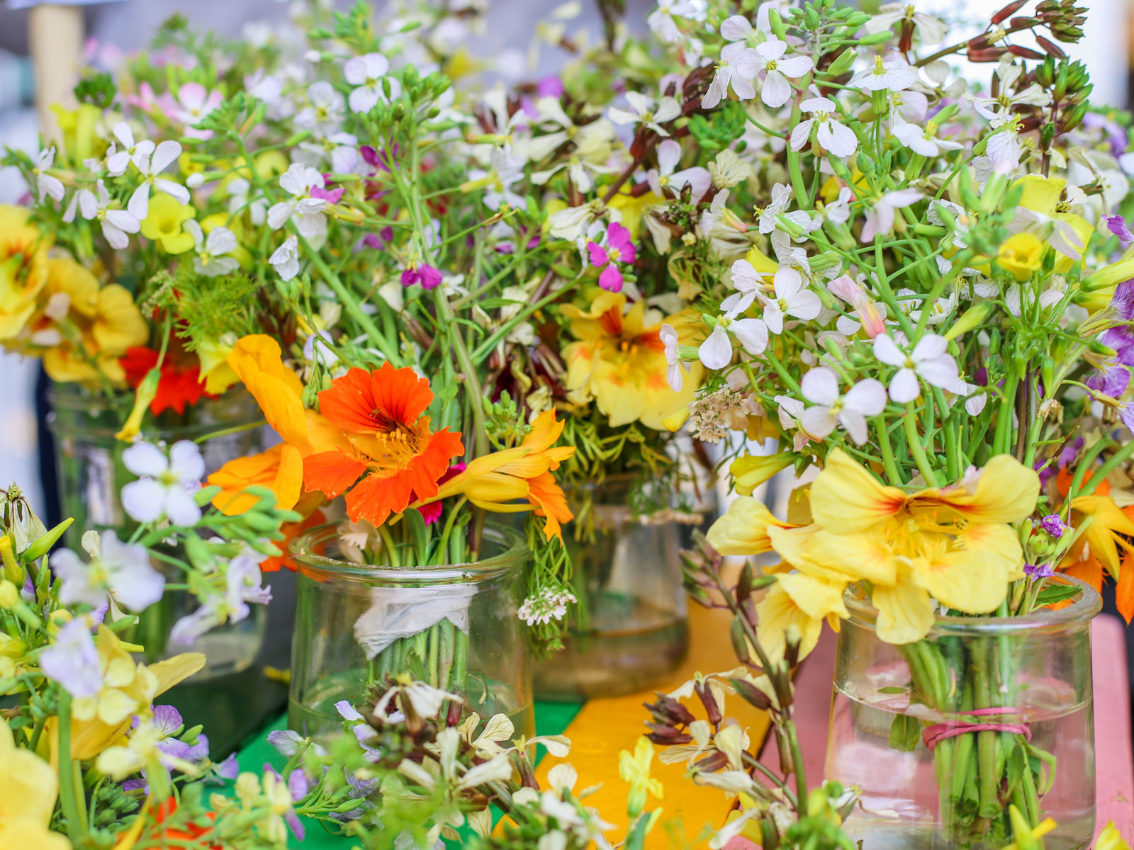 How to Cook with Edible Flowers | Food & Wine