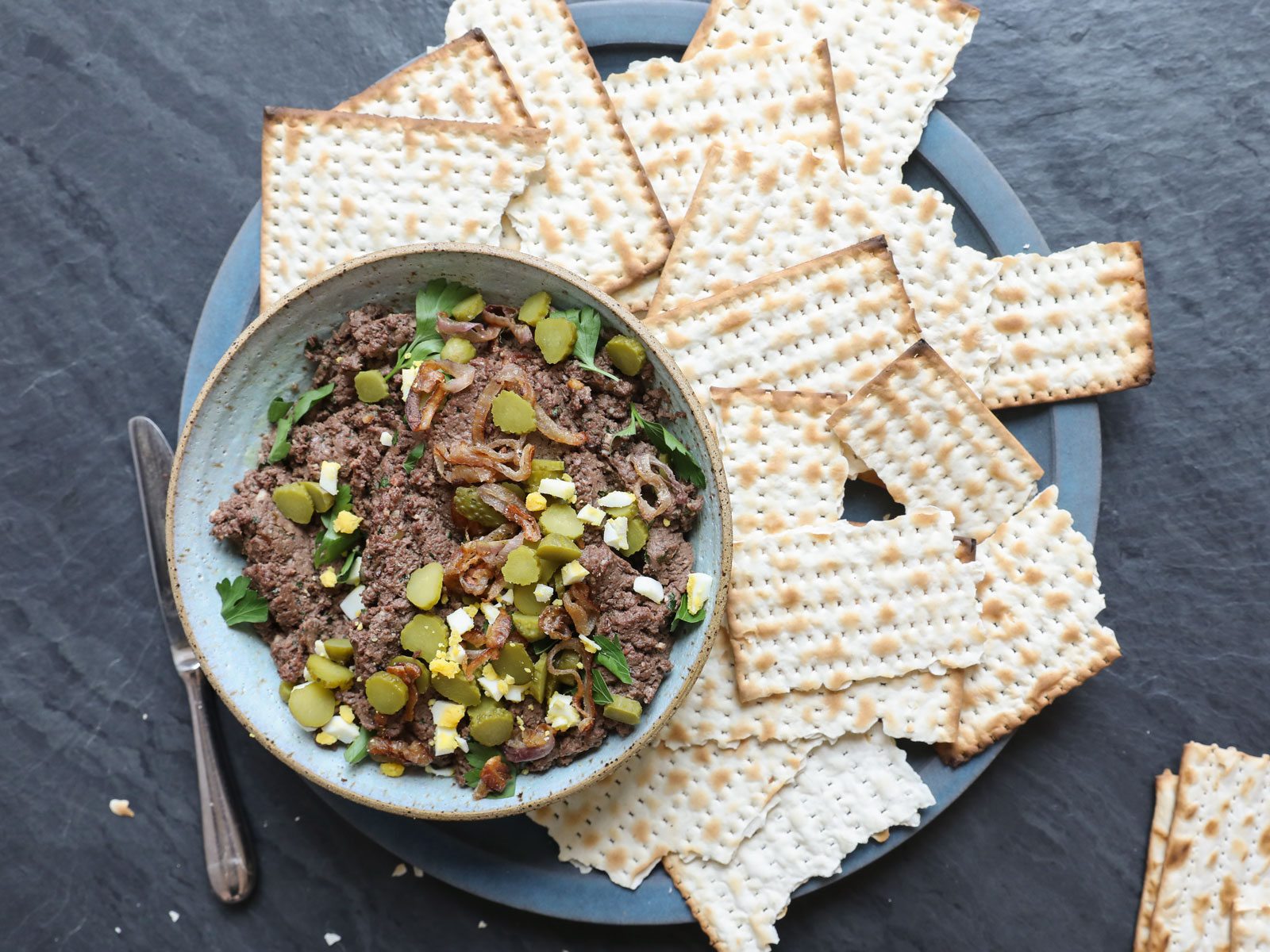 Gail Simmons Shares Her Mom's Classic Recipe for Chopped Chicken Liver