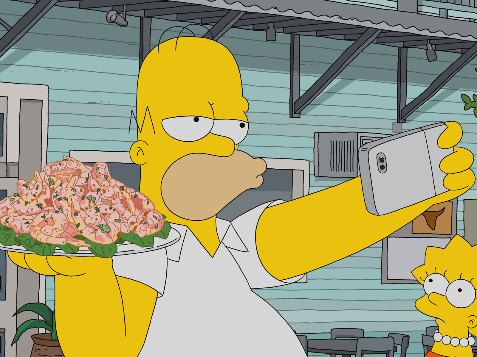 These Tourists Did a Shot-for-Shot Remake of Everything Homer Simpson Ate in New Orleans