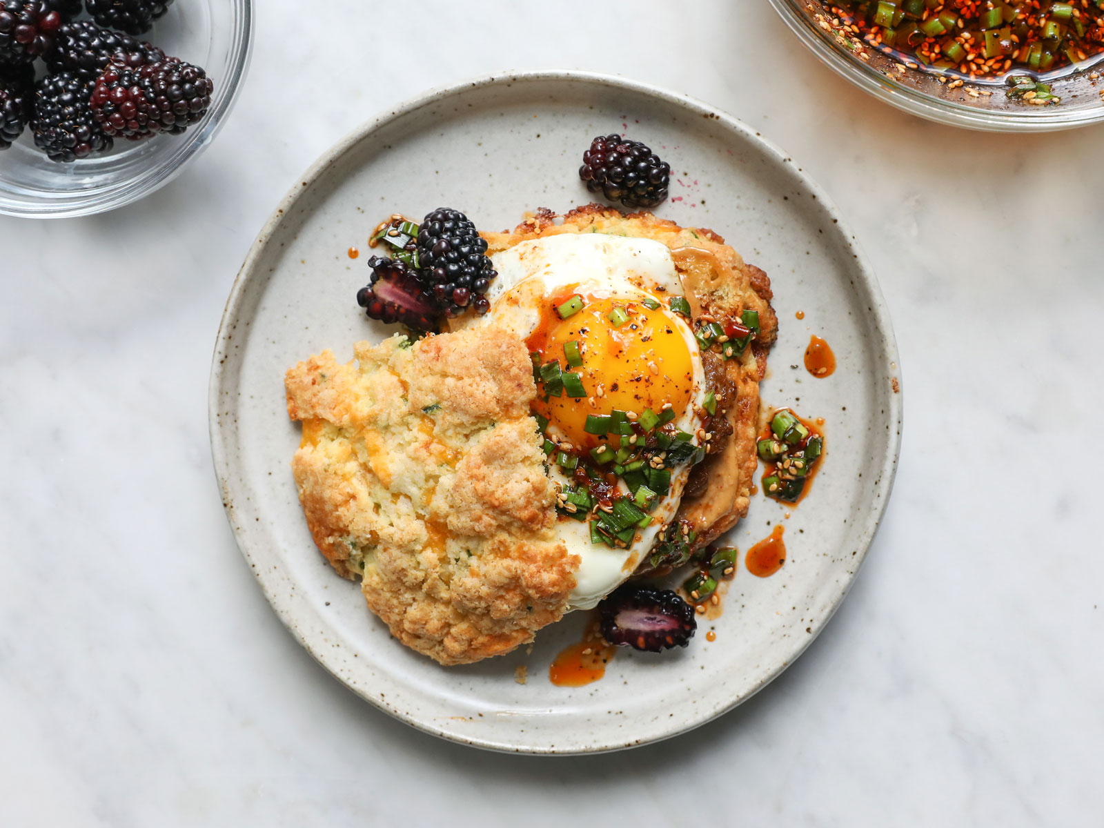 Szechuan-Style Breakfast Biscuits