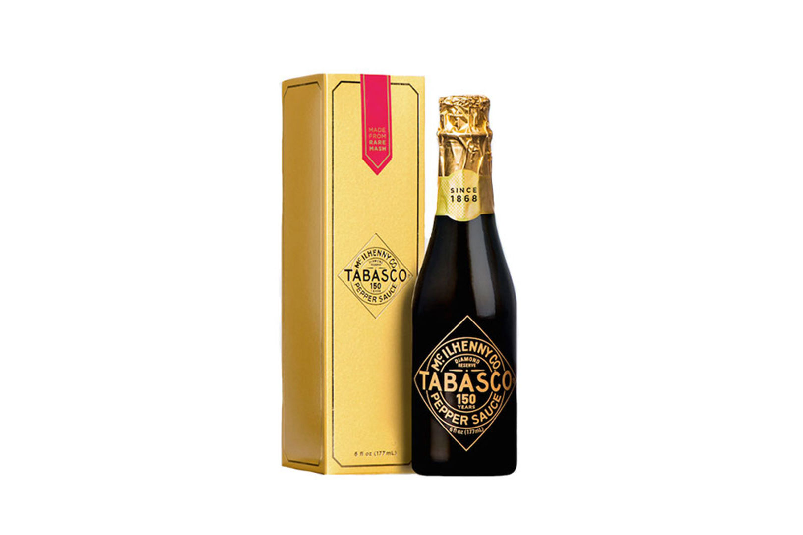 Tabasco Celebrates 150th Anniversary With Limited Edition Diamond Reserve Sauce