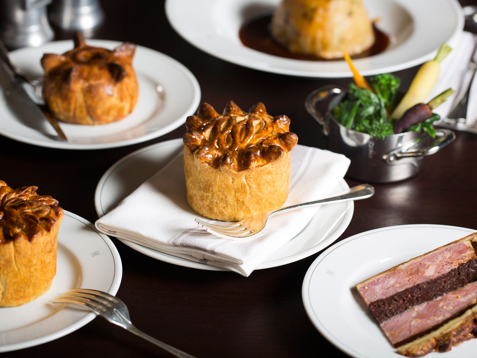One of London's Best Chefs Is Selling Pie from a Takeout Window, and We'll Take One of Everything