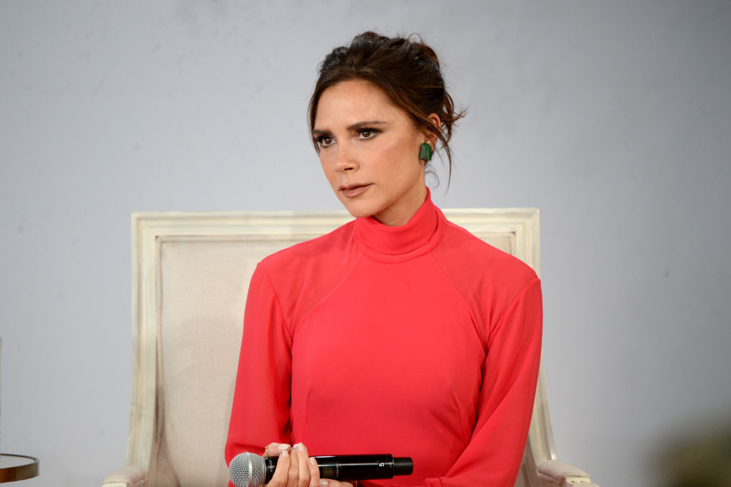 Victoria Beckham Doesn't Know What Birthday Cake Is: See Her Cut Into a Watermelon for Her 44th