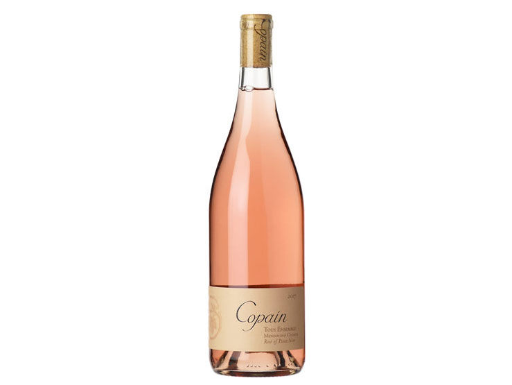 2017 Copain  Tous Ensemble  Rose of Pinot Noir, Mendocino County