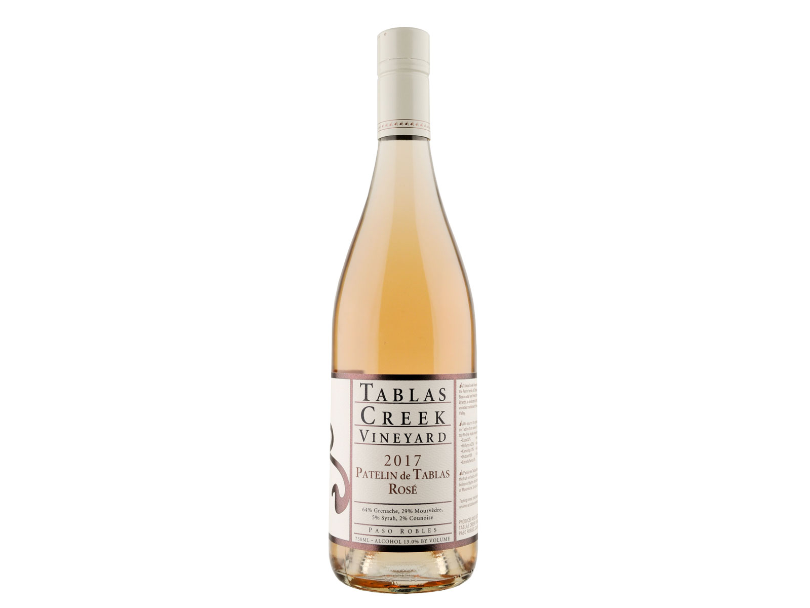 2017 Tablas Creek  Patelin de Tablas  Rose