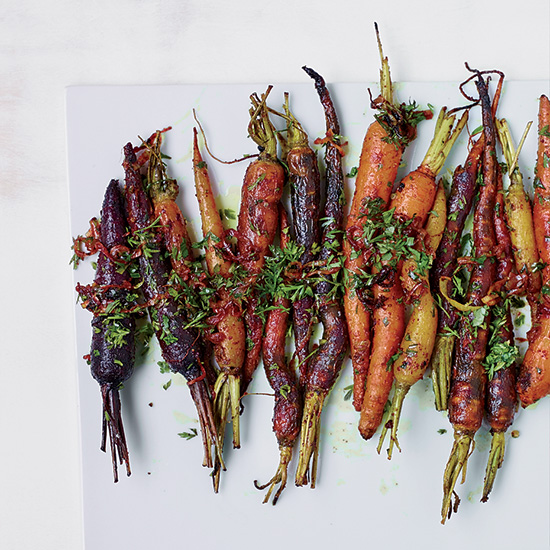 Roasted Carrots (or other root vegetables)