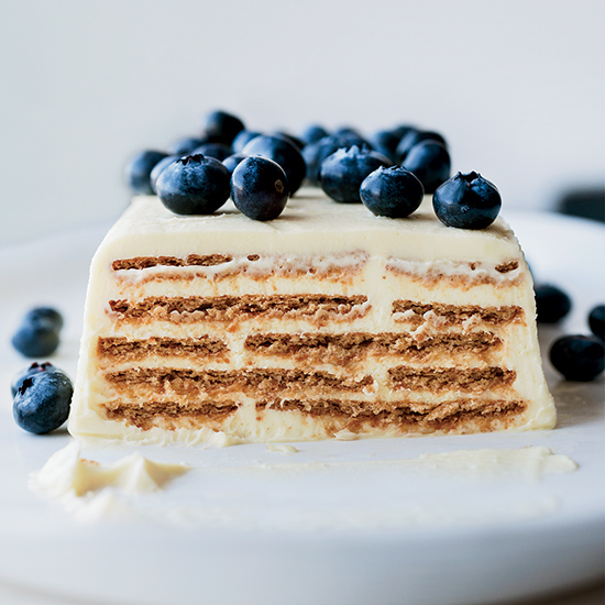 Lemony Layered Cheesecake