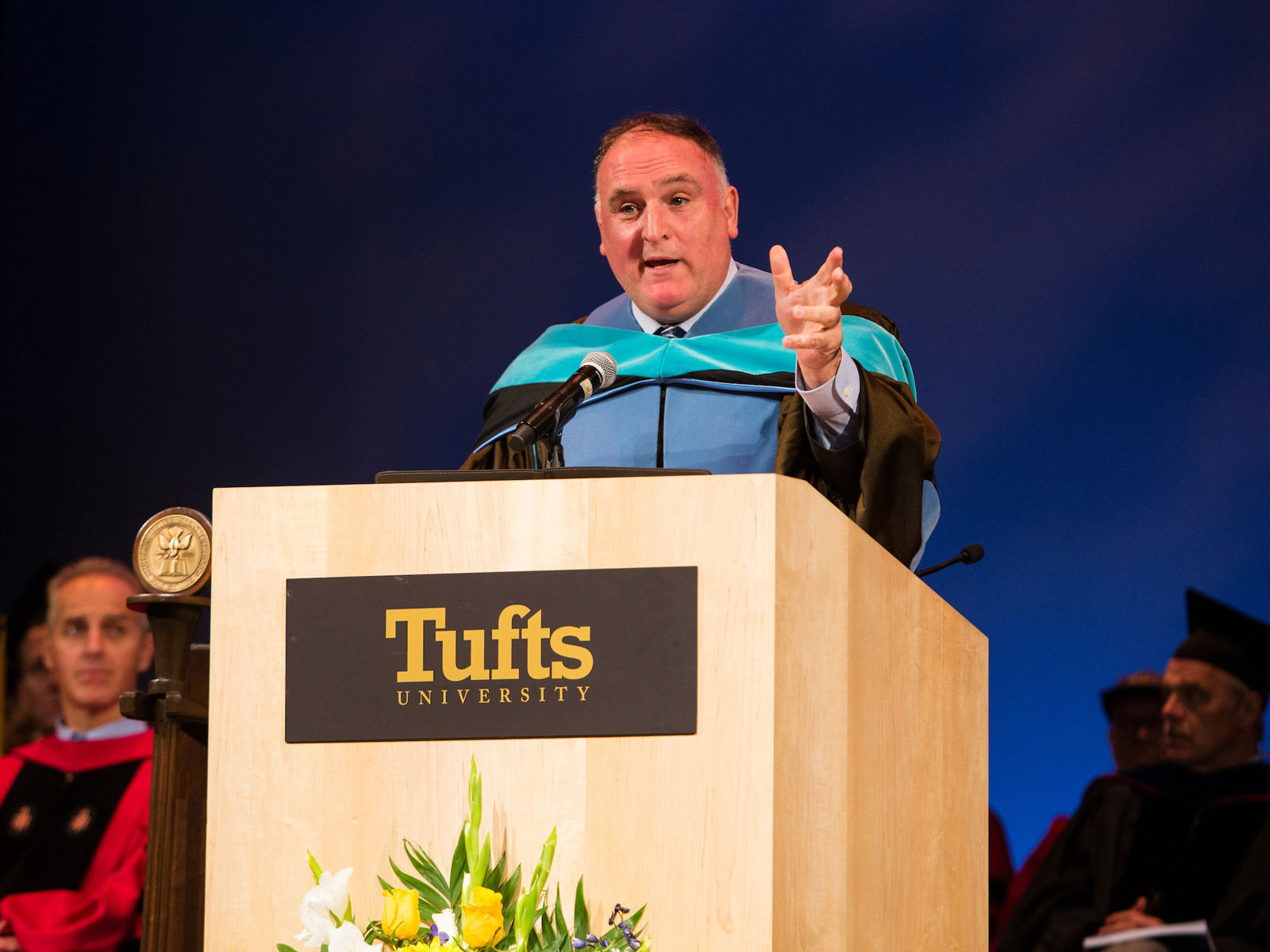 José Andrés' Tufts Commencement Speech Made Us Laugh and Made Us Cry