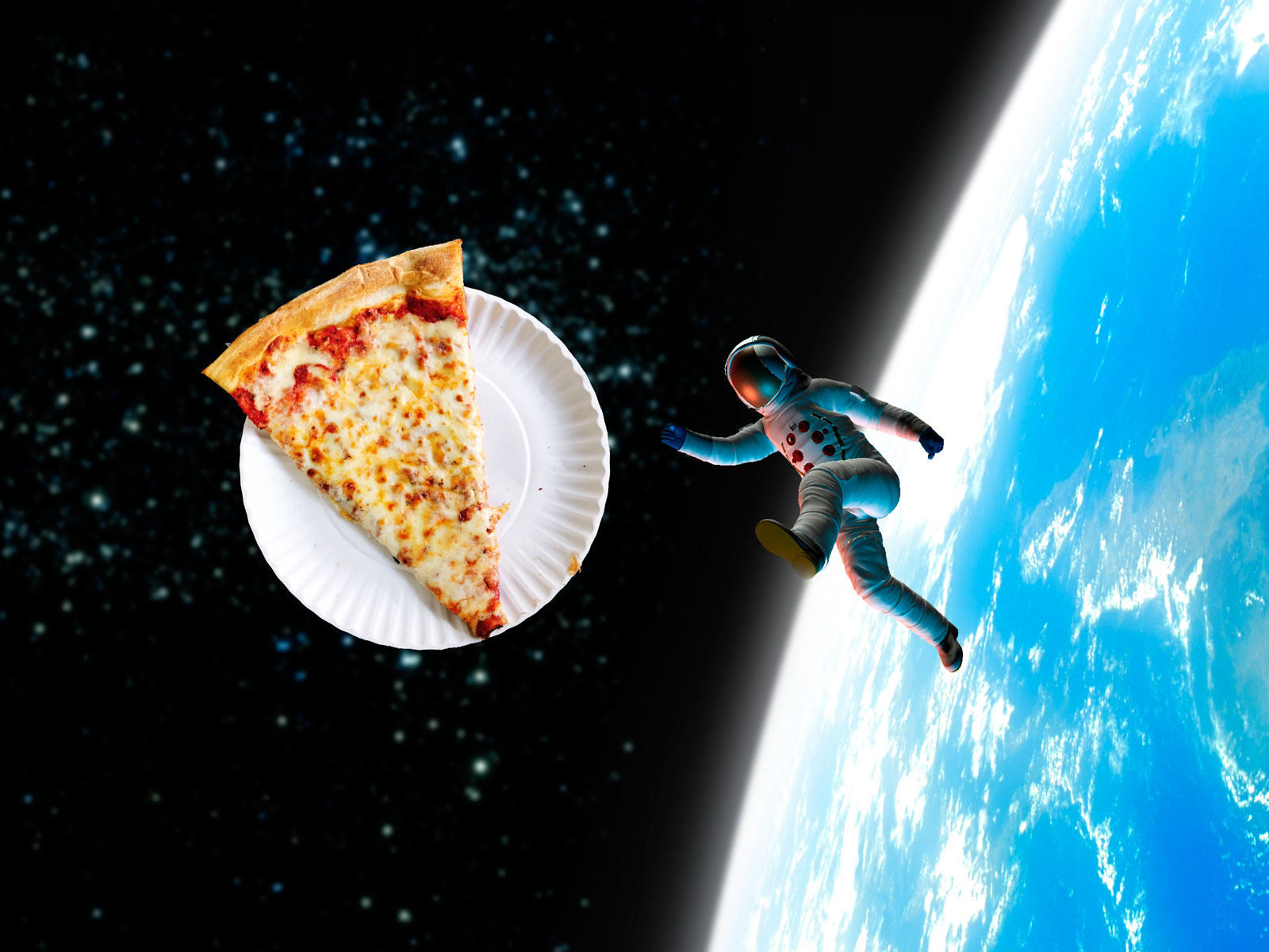 This Astronaut Ordered Pizza From a Space Shuttle