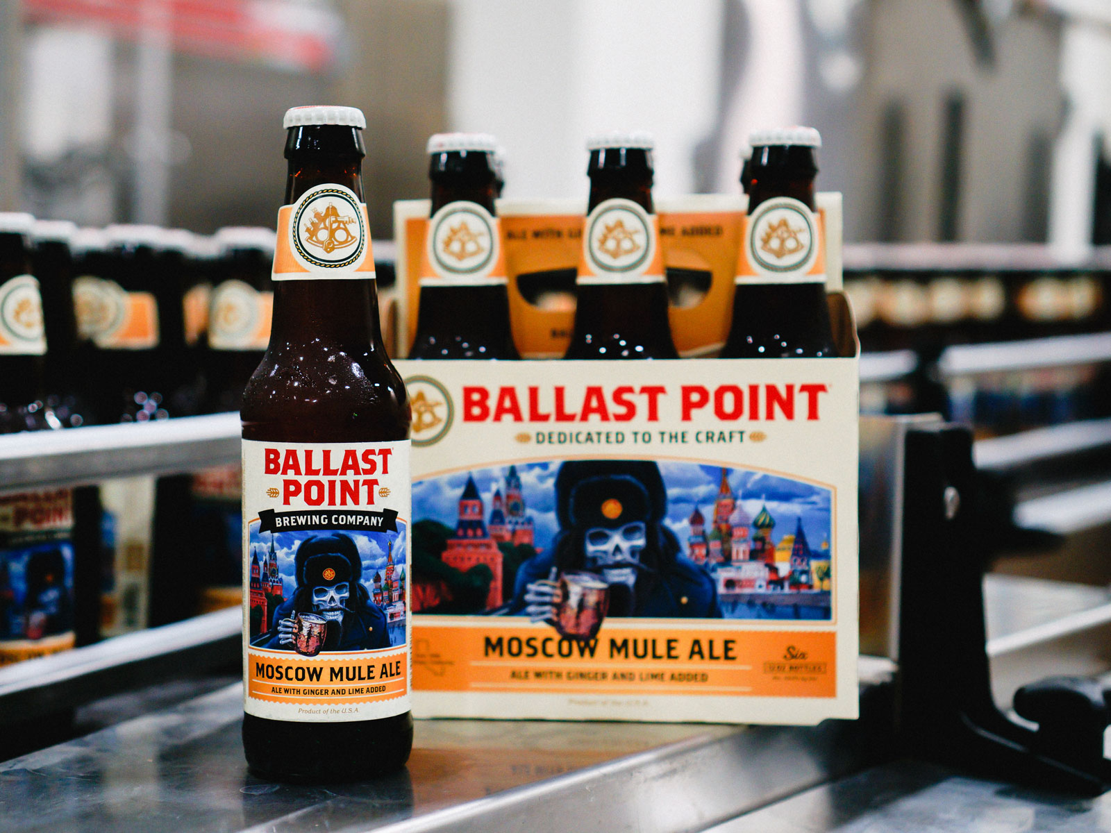 Ballast Point's Moscow Mule Beer Goes Nationwide Just in Time for Spring