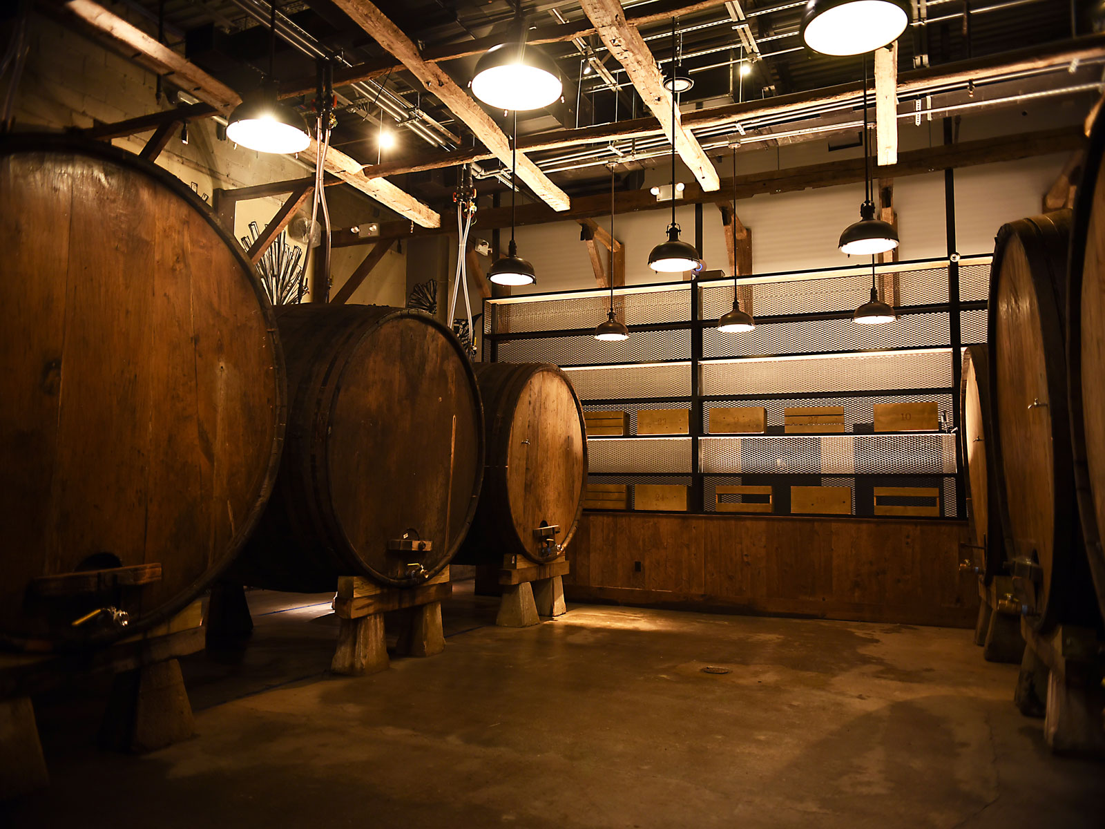 Brooklyn Cider House Barrel Room
