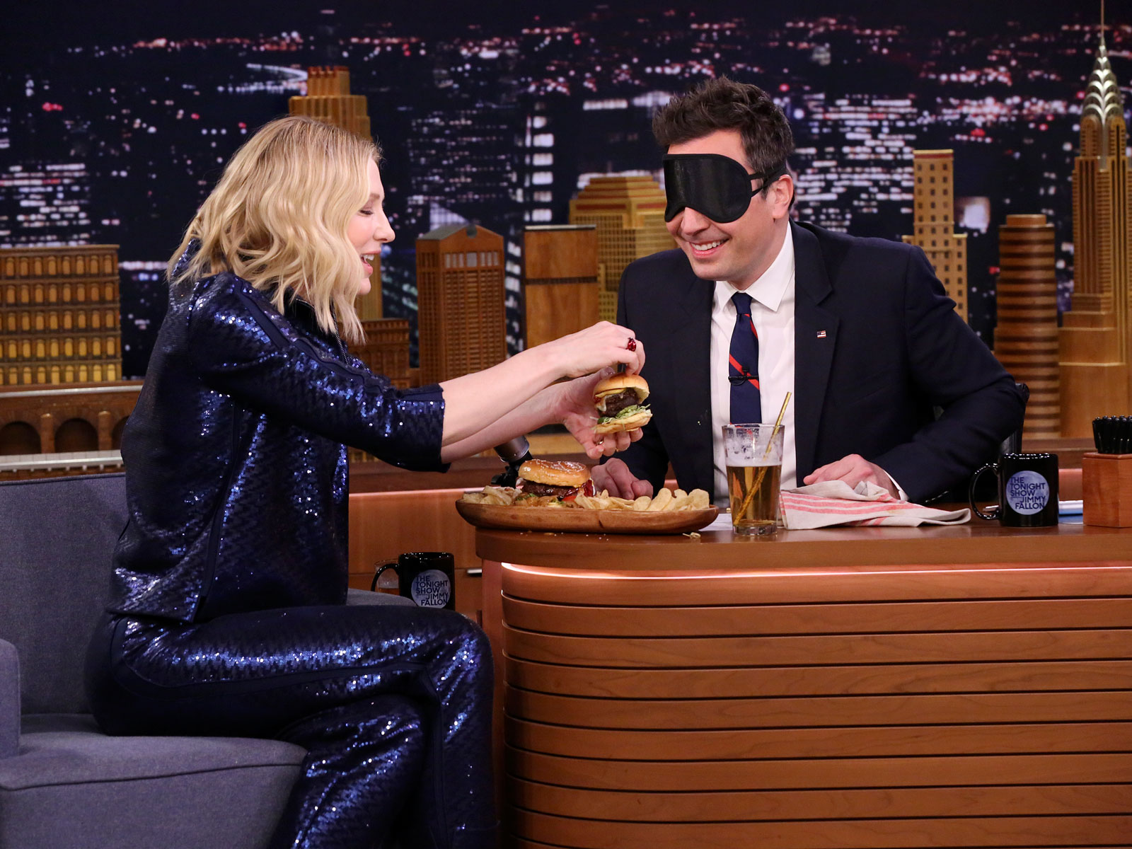 Why Cate Blanchett Prefers Australian Burgers to American Ones