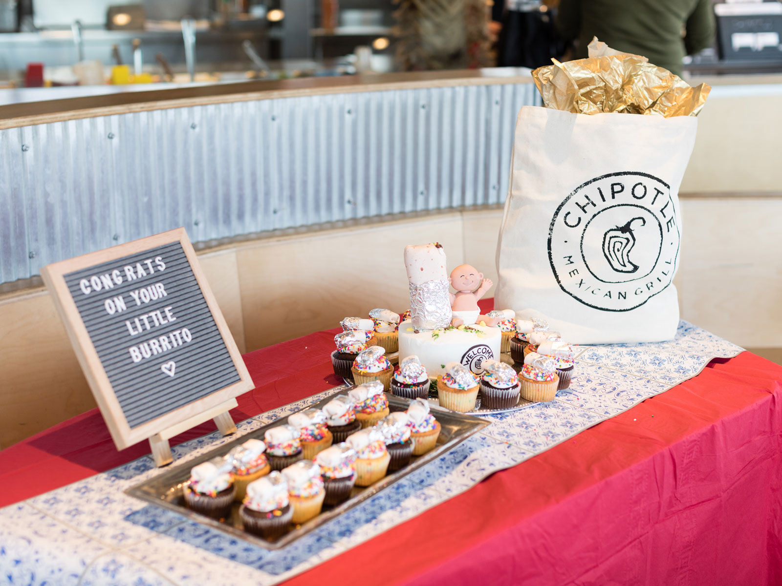 A Woman Gave Birth at Chipotle, So the Restaurant Threw Her a Baby Shower