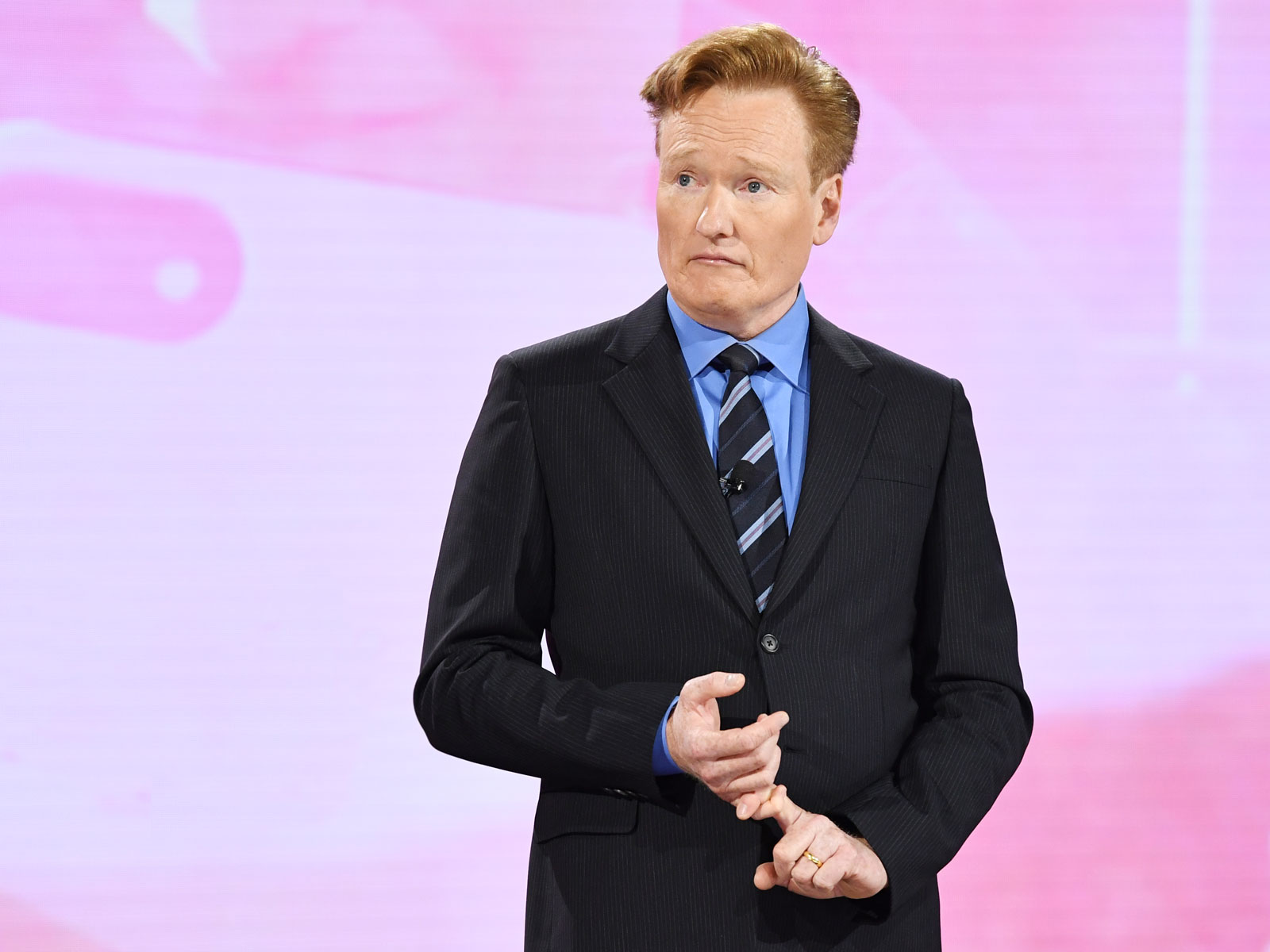 Conan O'Brien's Awkward Wine Tasting Outtakes Are Hilarious