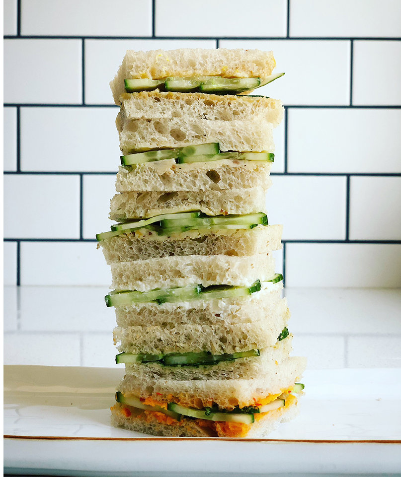 You're Going to Love Cucumber Tea Sandwiches When You Try Them This Way