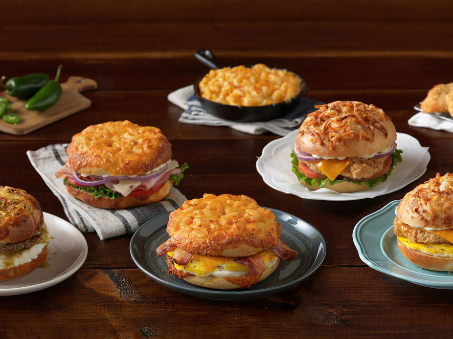 Einstein Bros. Mac and Cheese Bagels