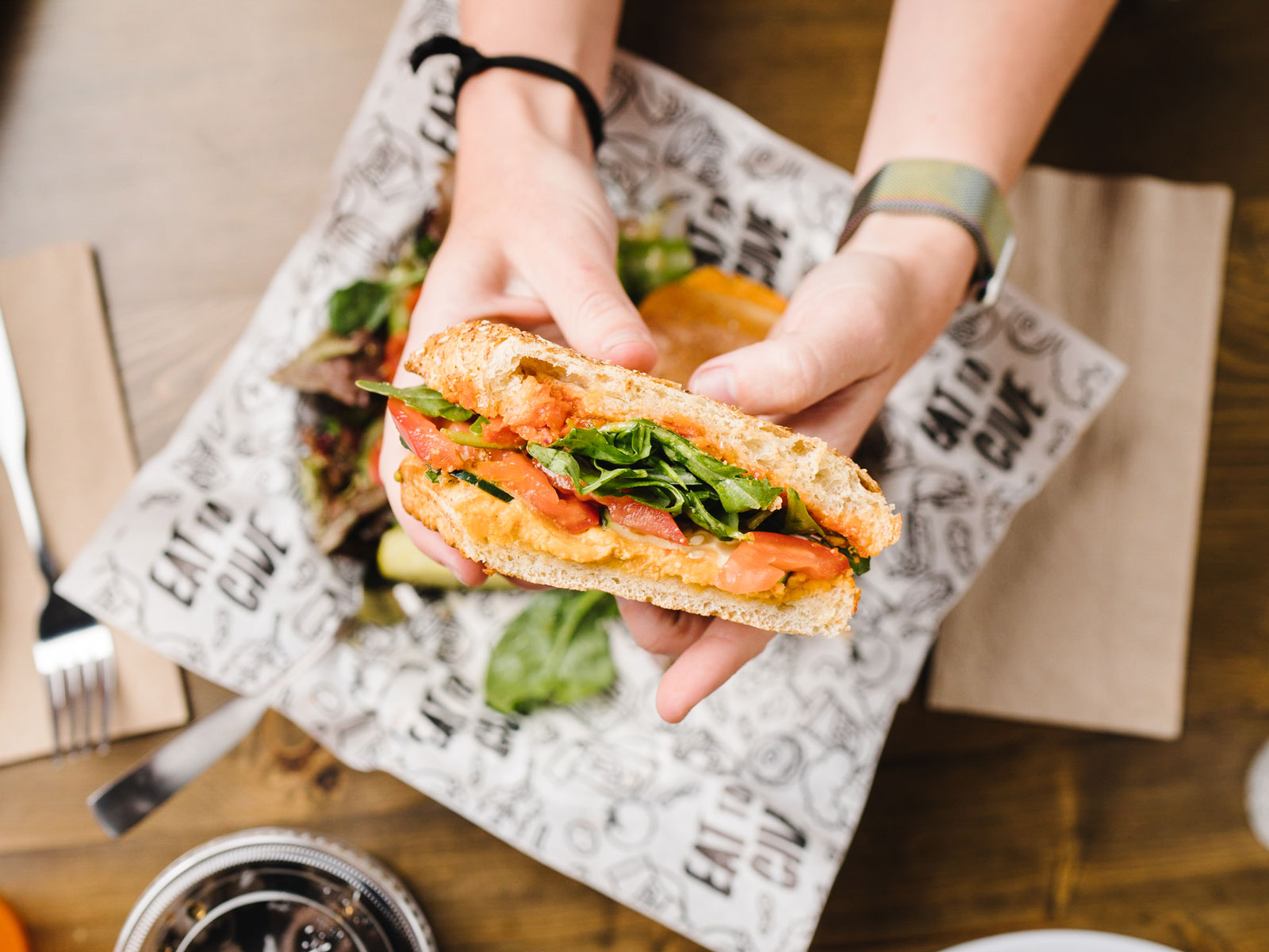 This Utah Restaurant Chain Has Given Away Nearly Three Million Sandwiches to Combat Food Insecurity