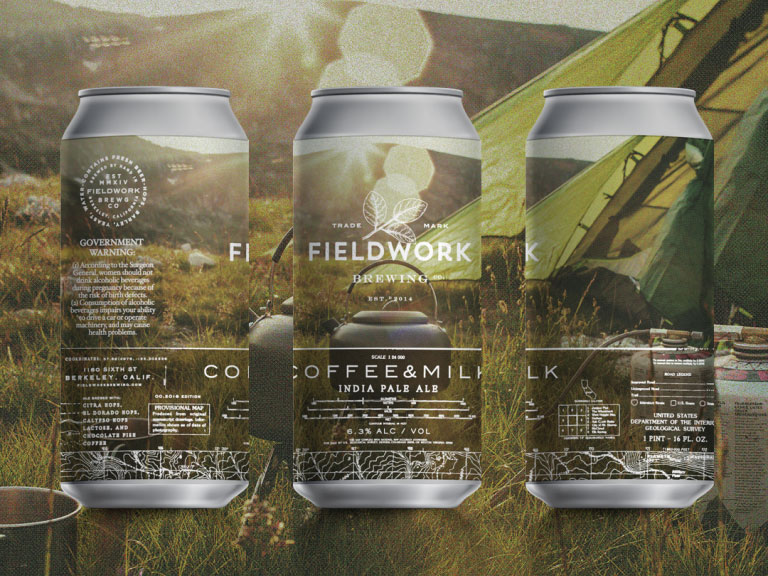 Fieldwork Coffee & Milk (India Pale Ale) – Berkeley, CA
