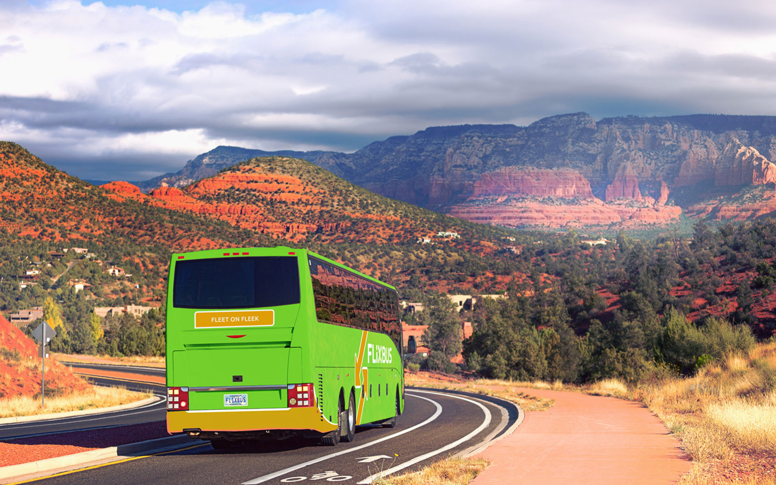 This Cool European Bus Company Will Launch in the U.S. With 99-Cent Trips