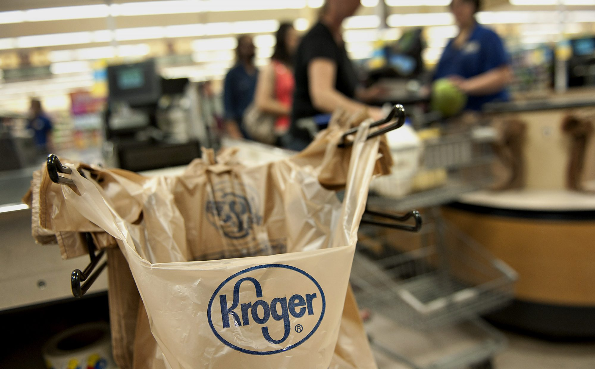 Inside A Kroger Co. Supermarket Ahead Of Earns Figures