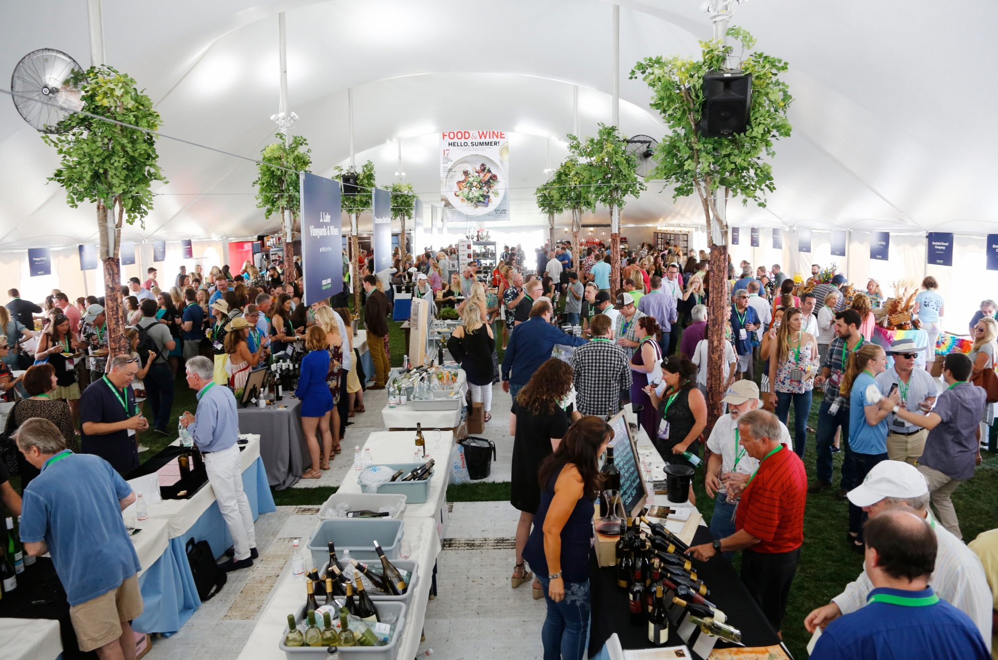 Inside the mkgalleryamp;amp; Wine Classic in Aspen