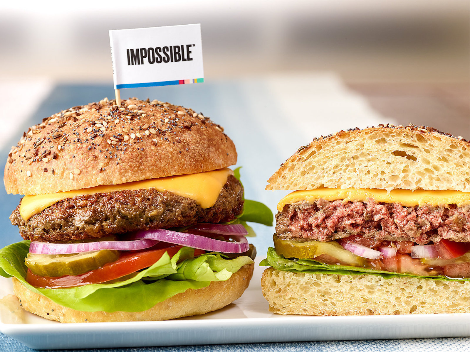 Impossible Burger Unleashes the World's First Kosher 'Cheeseburger'