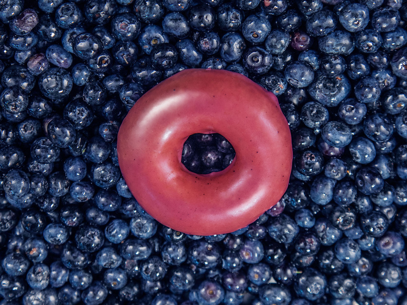 Blueberry Krispy Kreme