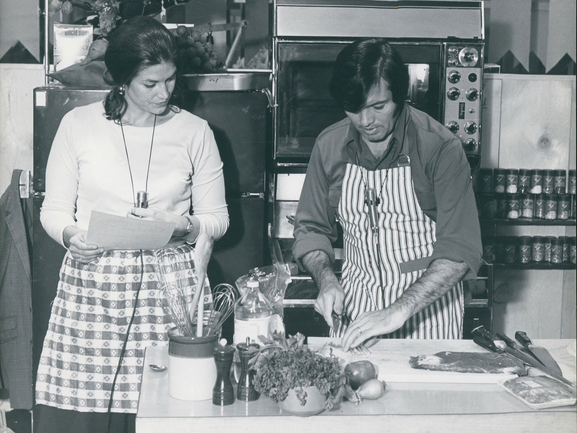 Lynne and Jacques Pepin
