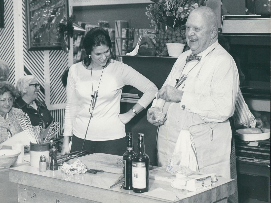 Lynne and James Beard