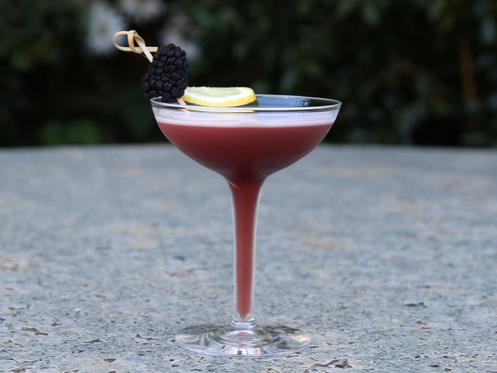 Marionberry Whiskey Sour