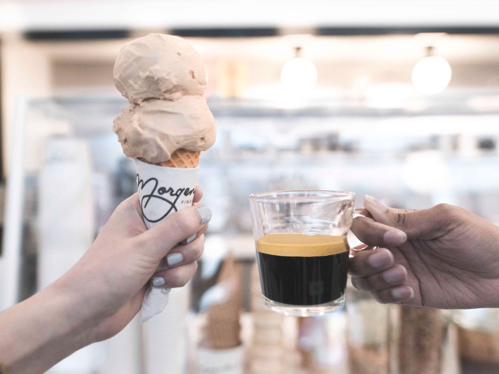 Nespresso and Morgenstern's Coffee Ice Cream Collaboration Is Doubly Decadent