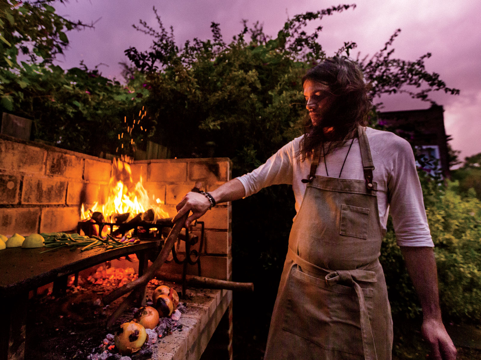 Cooking With Fire in Uruguay