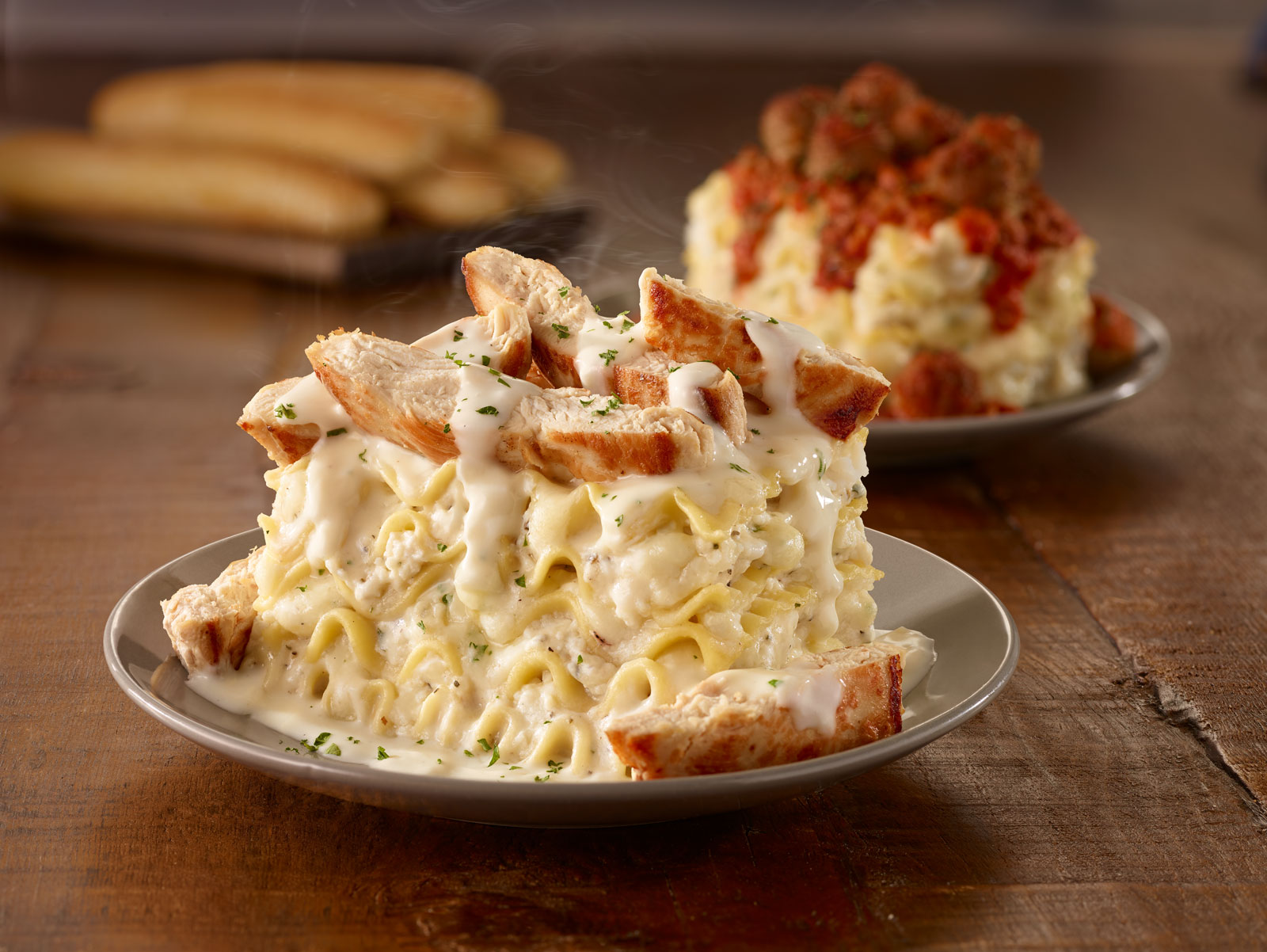 Olive Garden Introduces 'Customizable' Lasagna