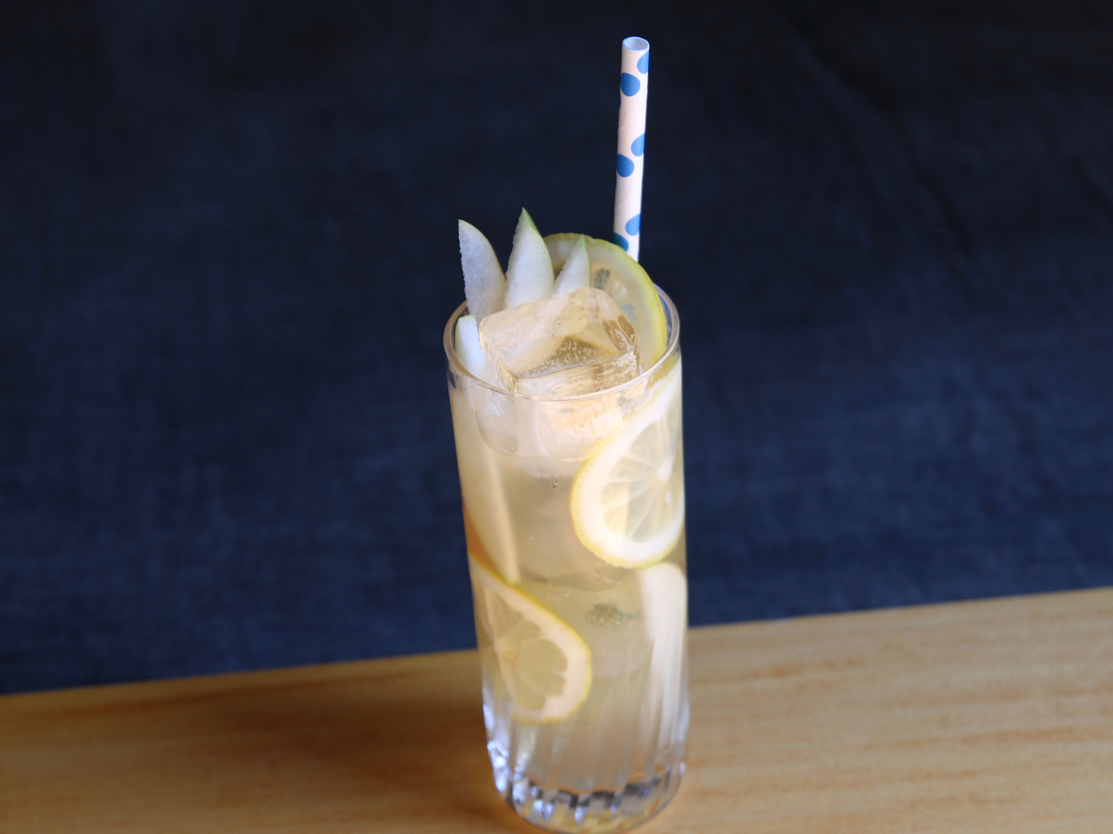 Pear and Cognac Cocktail
