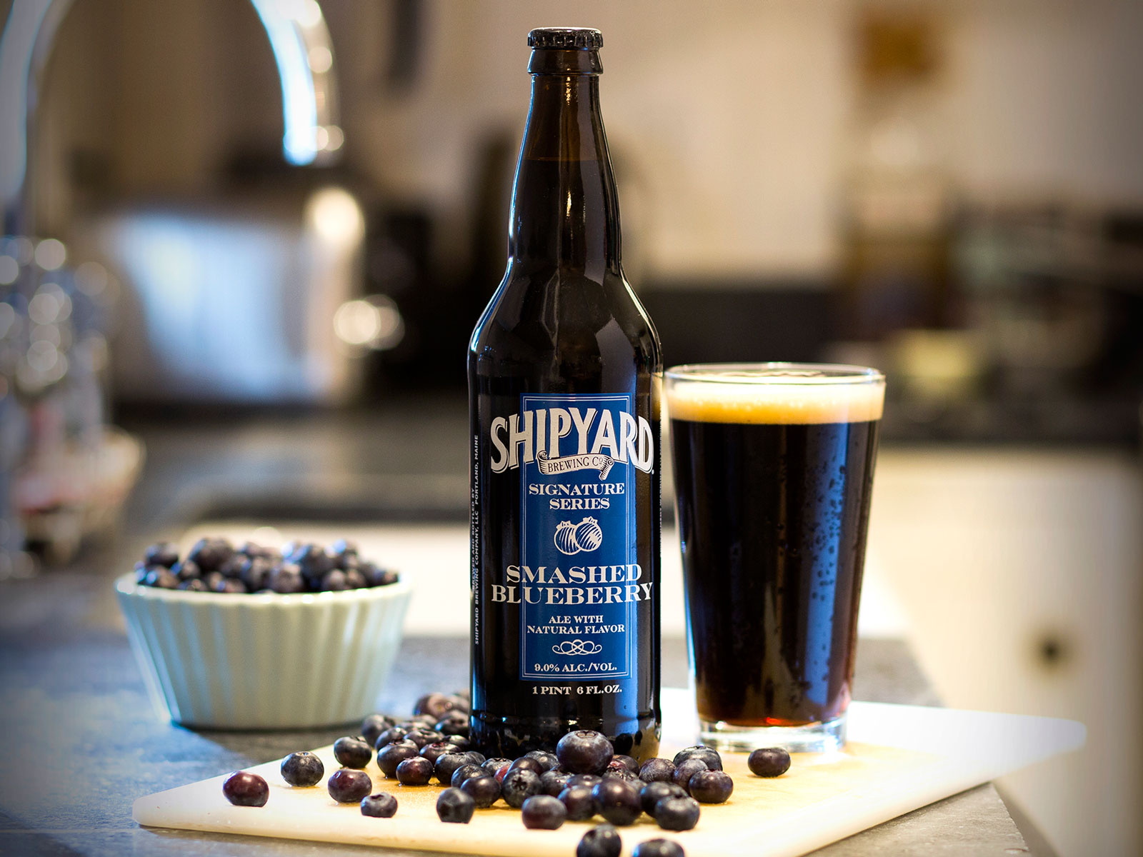 Shipyard Brewing Smashed Blueberry