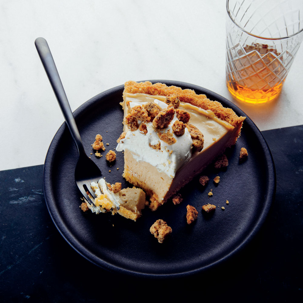 Tiramisu Icebox Pie