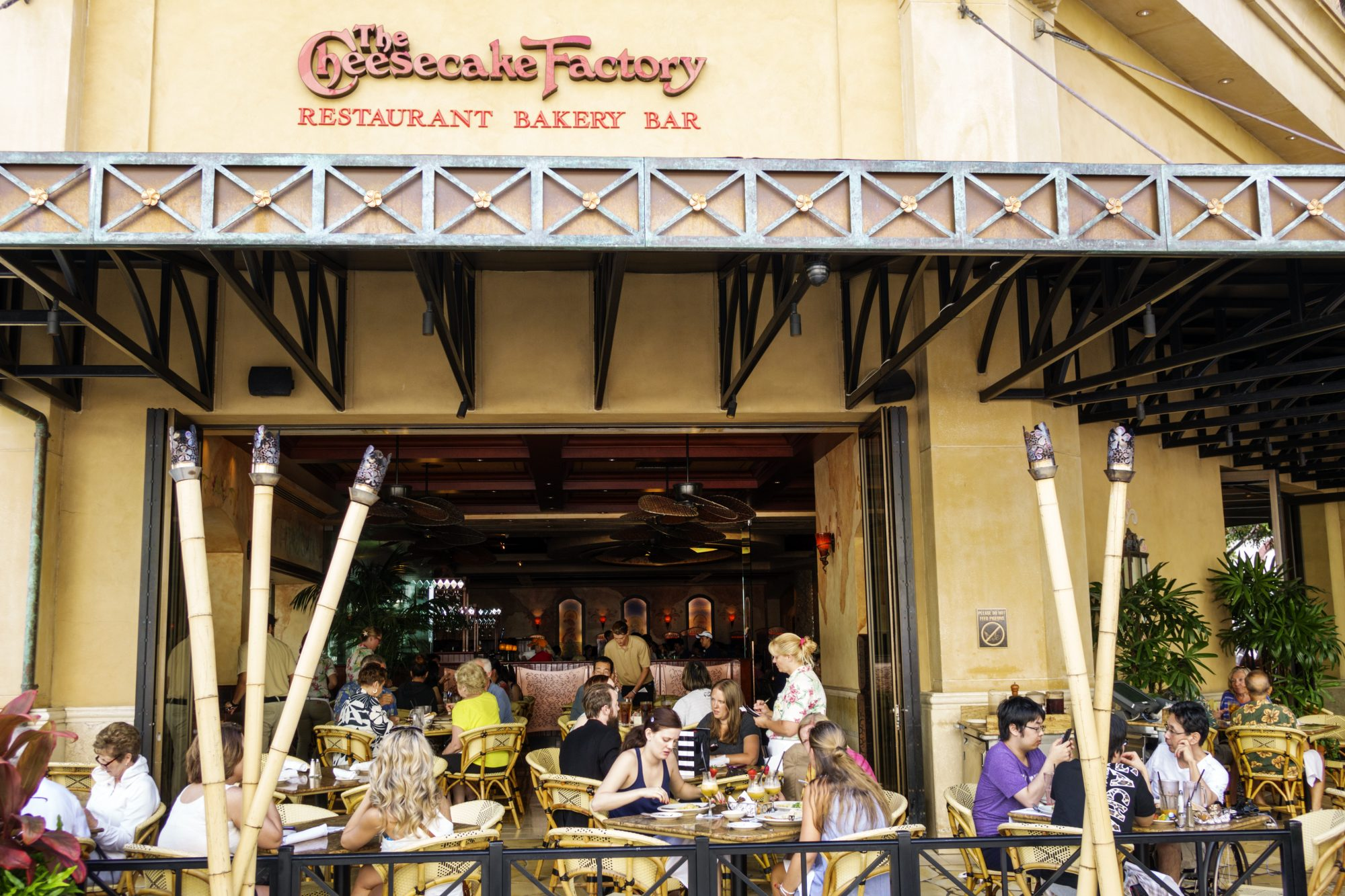 The Cheesecake Factory.