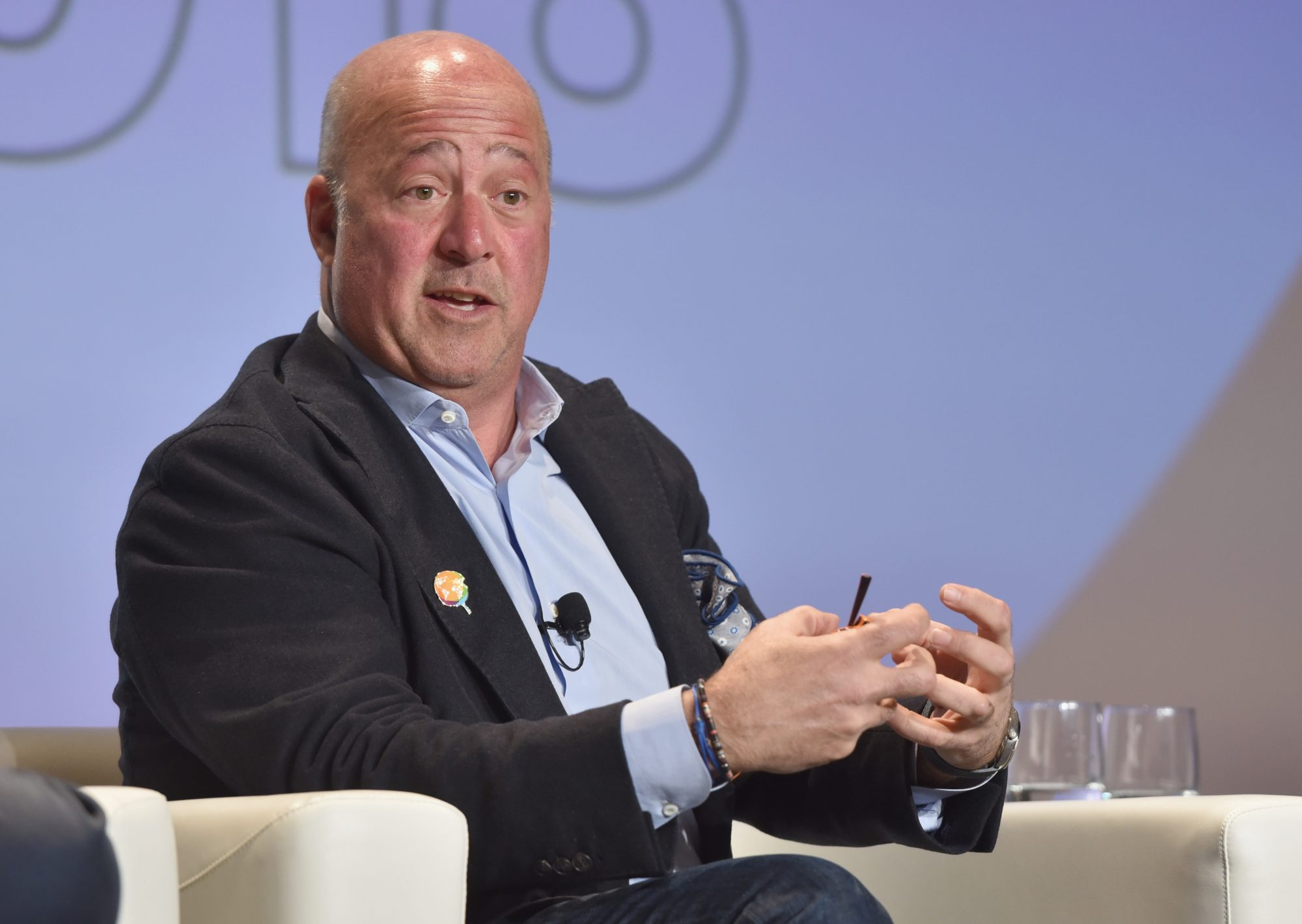 The One Piece of Advice Andrew Zimmern Would Give to Young Chefs