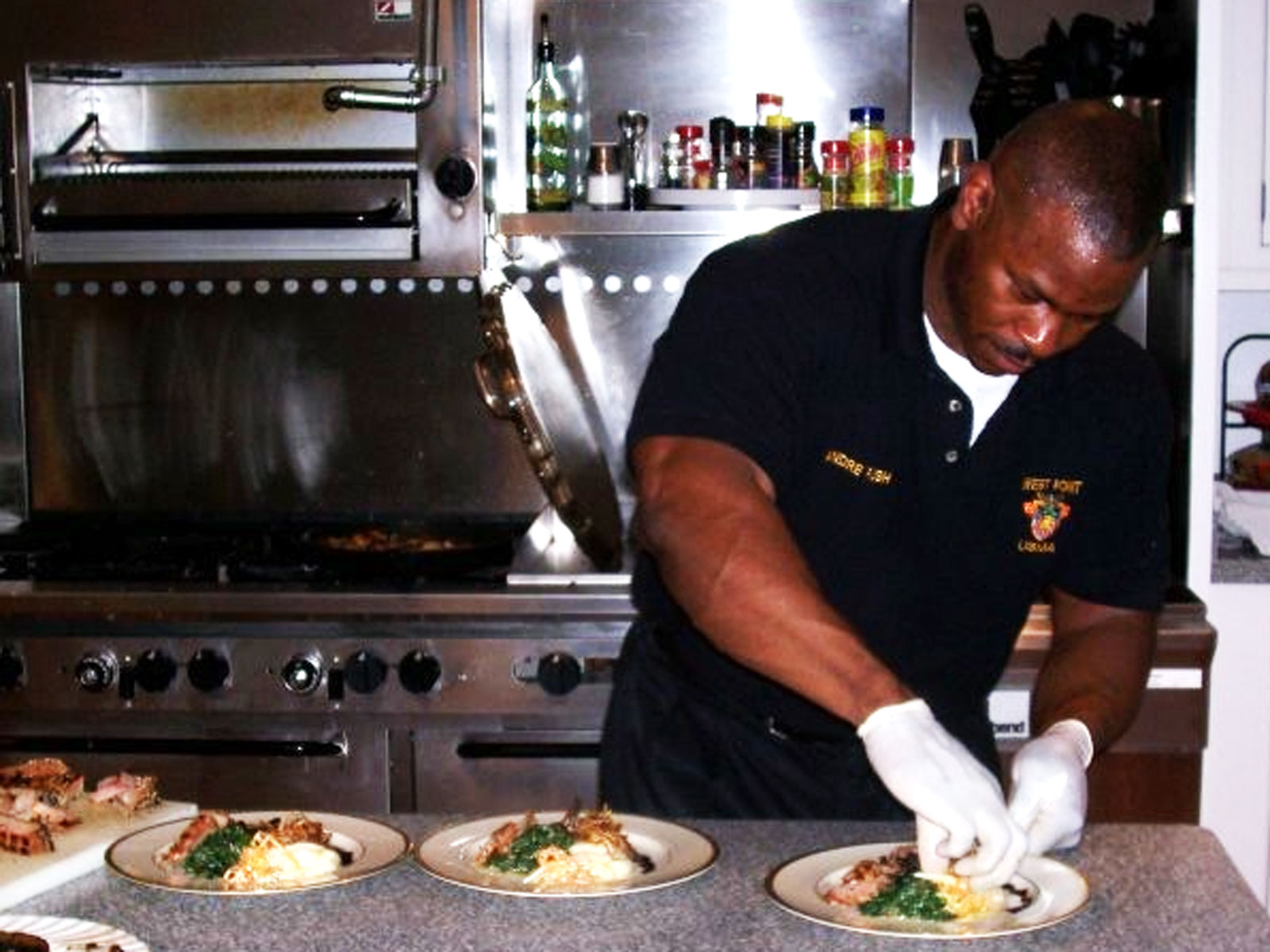 Meet Andre Rush, the White House Chef with the Viral Biceps