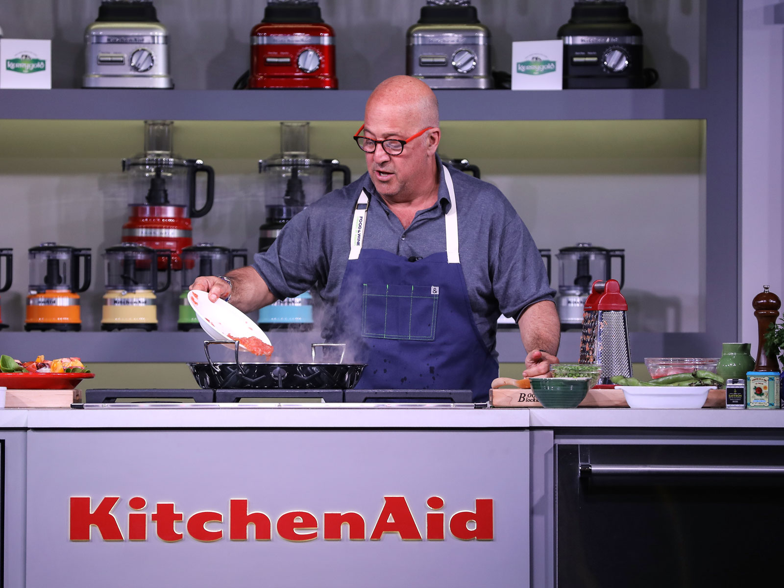 Andrew Zimmern's Best One-Liners from the Food & Wine Classic in Aspen