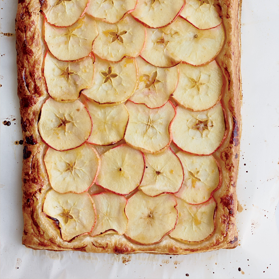 Apple-Ginger Crostata