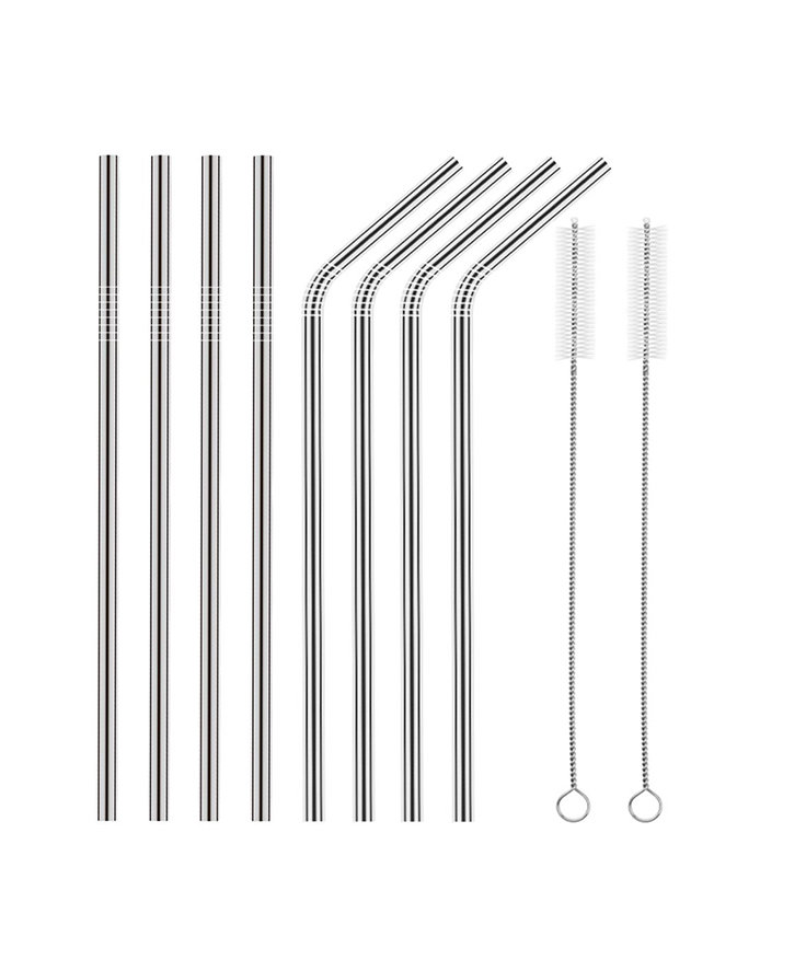Plastic Straws Aren't Cool Anymore—These Metal Straws Have Become Amazon Best-Sellers